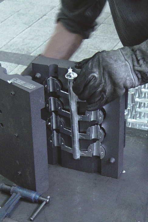 Design and manufacture of standard and engine anodes